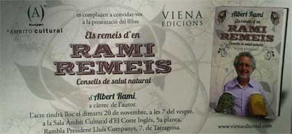 invitació presentació Rami Remeis
